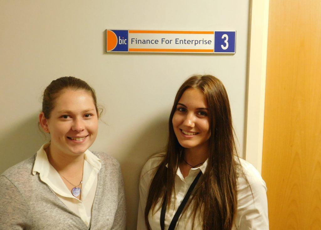 Apprentices Alisha & Rebekah