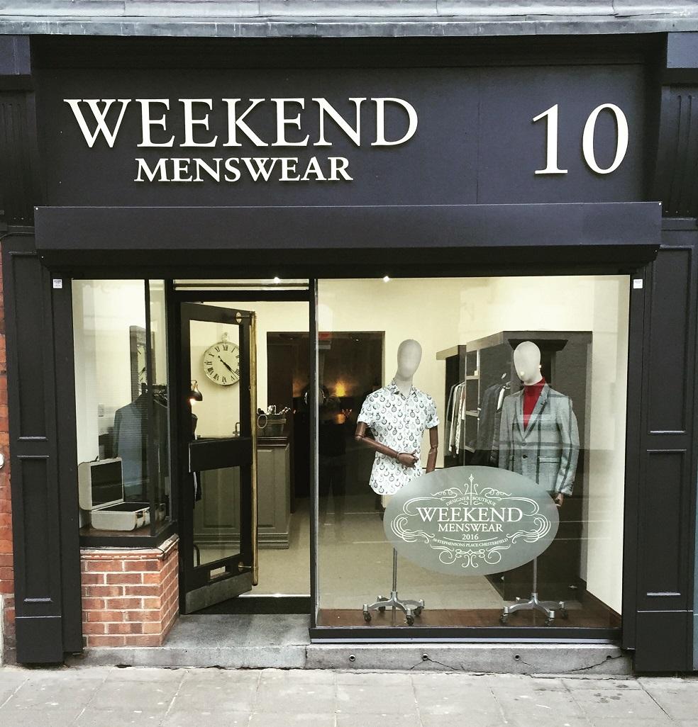 Weekend Menswear Chesterfield