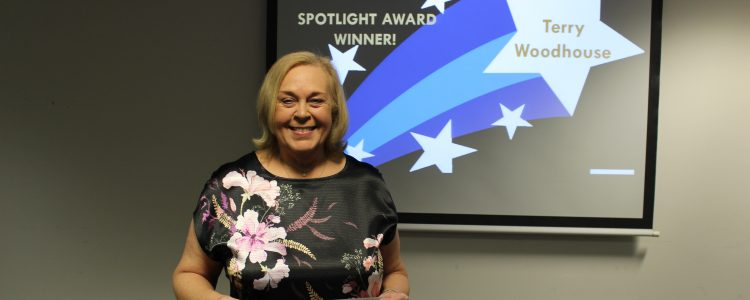 Terry Woodhouse spotlight award