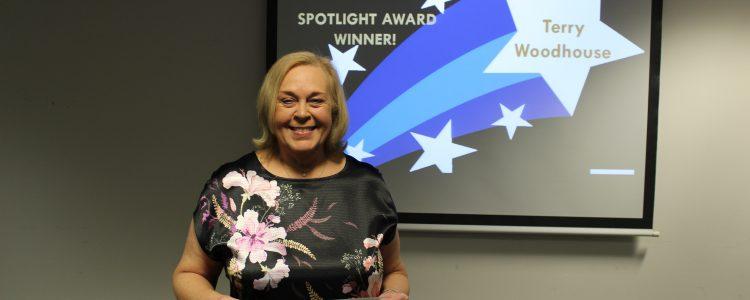 Terry Woodhouse spotlight award