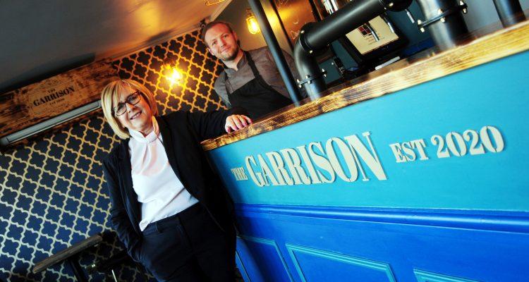Garrison founder Elliott Vaughan with Investment Manager Gillian Pickard